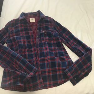 Jackets & Blazers - Hollister Flannel